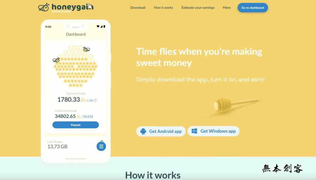 海外手机挂机赚钱项目:利用Honeygain实现纯网络挂机赚钱