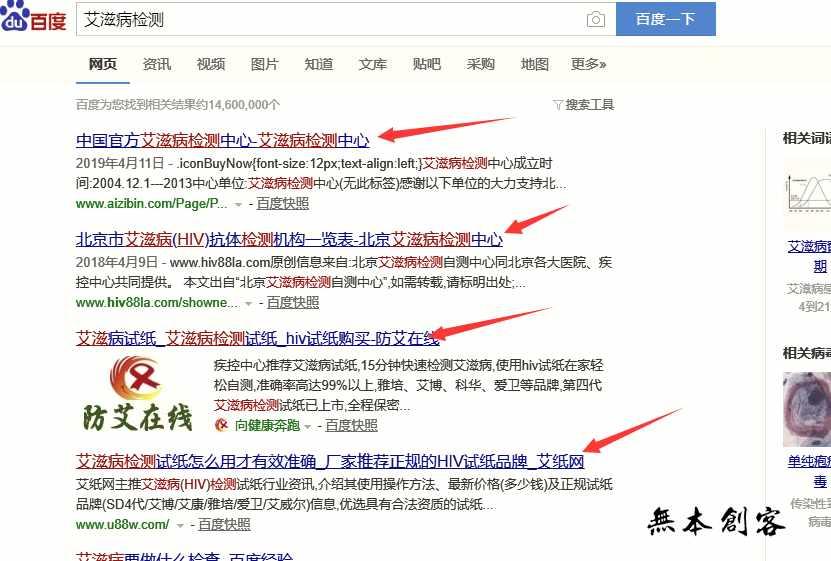 小本创业金点子:利用HIV试纸+网站SEO霸占搜索引擎